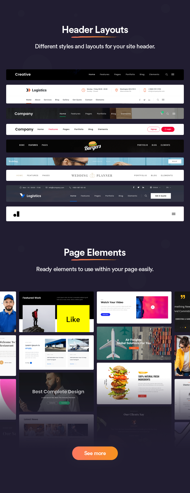 Joo - Niche Multipurpose Joomla Template With Page Builder - 3
